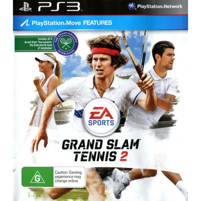 Игра Grand Slam Tennis 2 (поддержка Move) (PS3) б/у