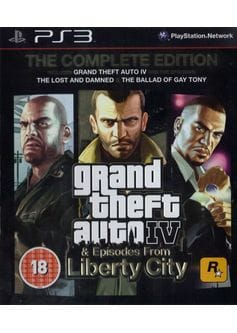 Игра GTA IV: Complete Edition (PS3) б/у