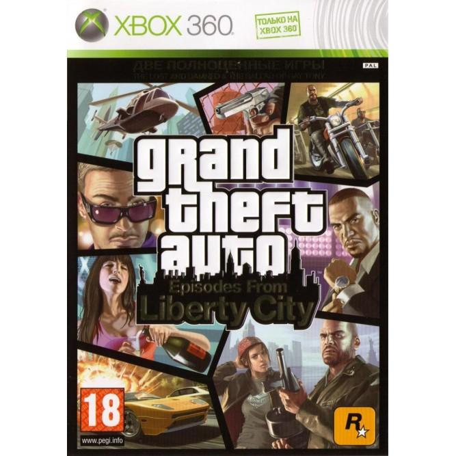 Игра Grand Theft Auto: Episodes from Liberty City (Xbox 360) б/у