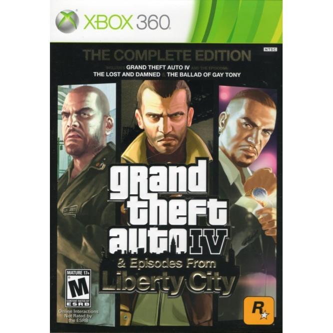 Игра GTA IV: The Complete Edition (Xbox 360) б/у