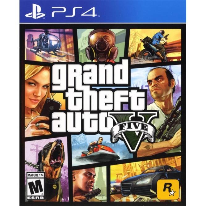 Игра GTA V (Grand Theft Auto 5) (PS4) б/у
