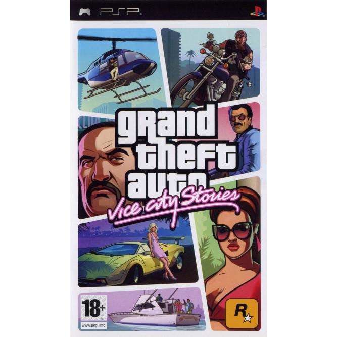 Игра GTA: Vice City Stories (PSP) б/у