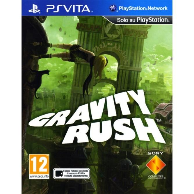Игра Gravity Rush (PS Vita) б/у