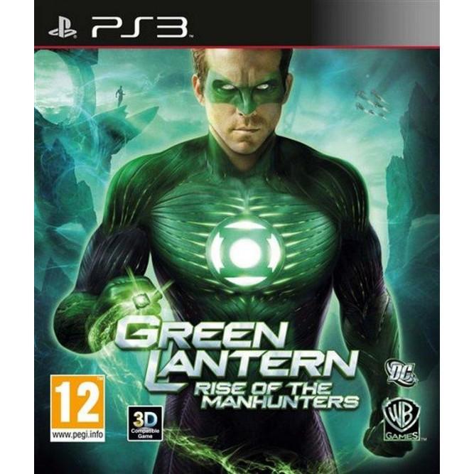 Игра Green Lantern: Rise of The Manhunters (PS3) б/у