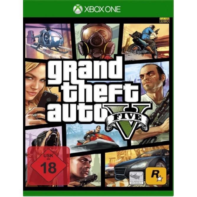 Игра Grand Theft Auto V (GTA 5) (Xbox One) б/у (German)