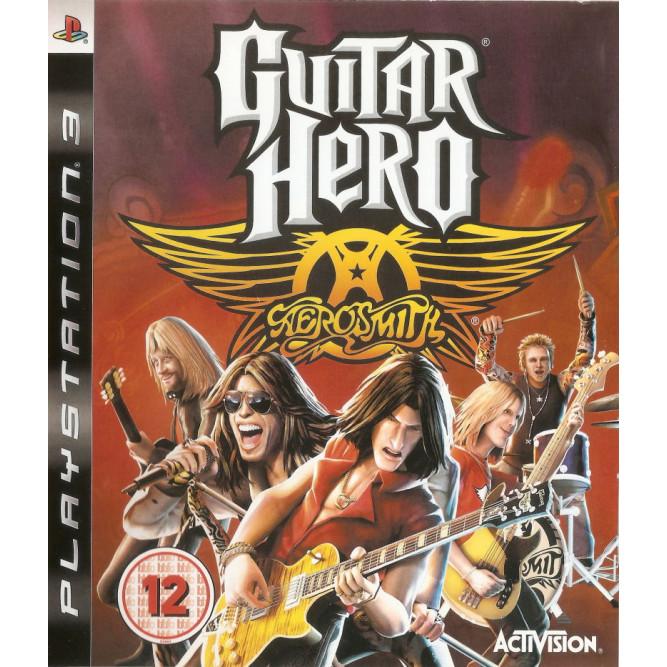 Игра Guitar Hero: Aerosmith (PS3) б/у