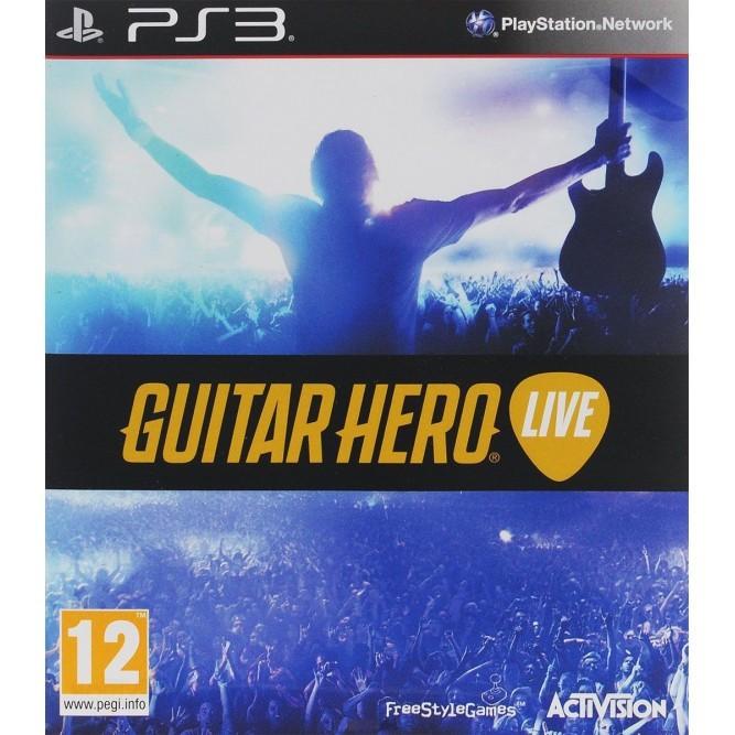 Игра Guitar Hero Live (только диск) (PS3) б/у