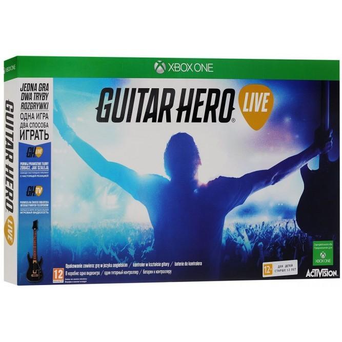 Игра Guitar Hero Live (Диск + Гитара) (Xbox One) б/у
