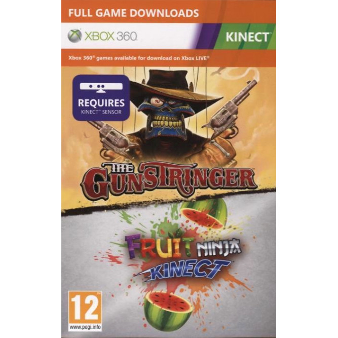 Игра The Gunstringer + Fruit Ninja Kinect (Xbox 360) (Код на загрузку)