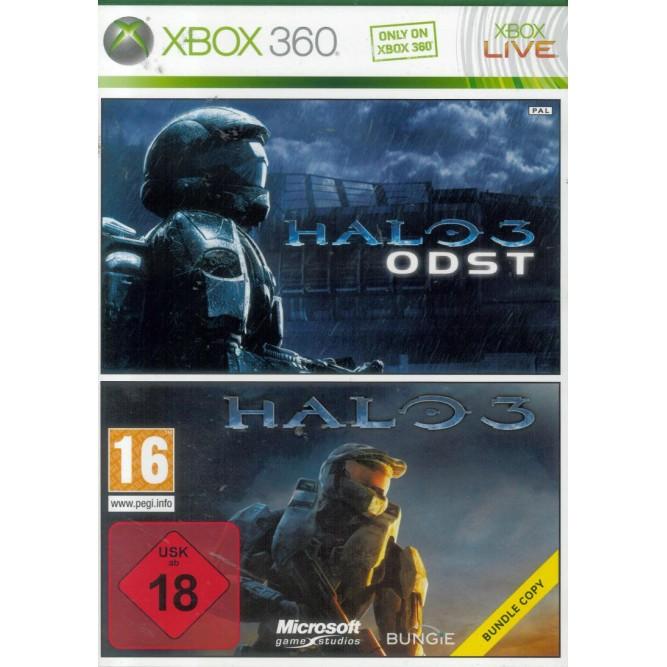Игра Halo 3 + Halo 3: ODST Bundle (Xbox 360) б/у