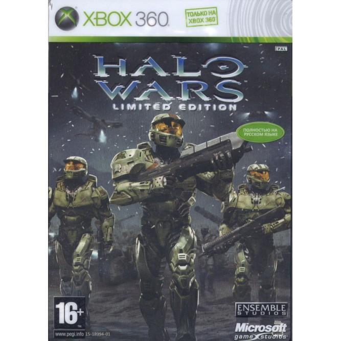 Игра Halo Wars. Limited Collector's Edition (Xbox 360) б/у
