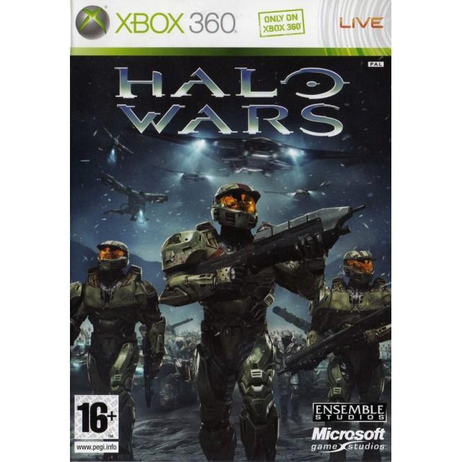 Игра Halo Wars (Xbox 360) б/у