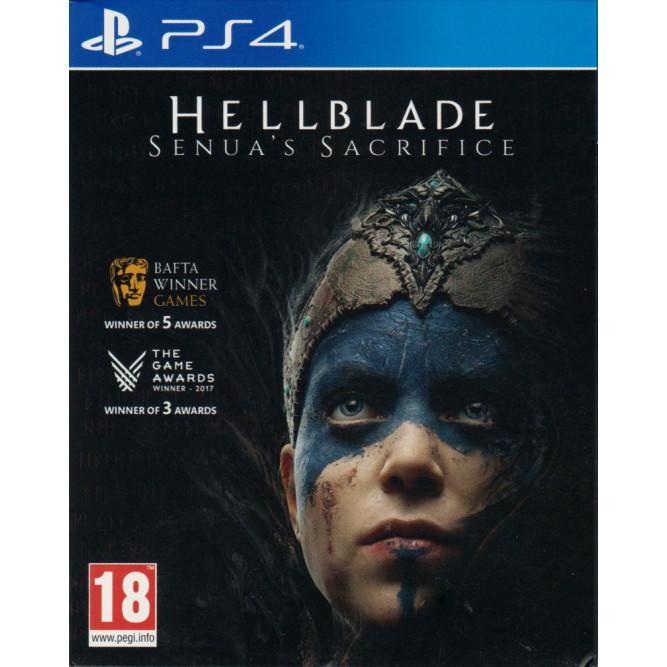 Игра Hellblade: Senua's Sacrifice (PS4) (rus sub) б/у