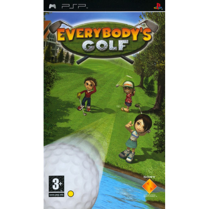 Игра Everybody's Golf (PSP) б/у