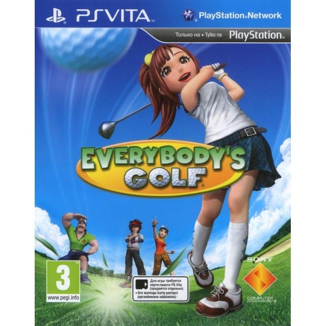 Игра Everybody's Golf (PS Vita) (б/у)
