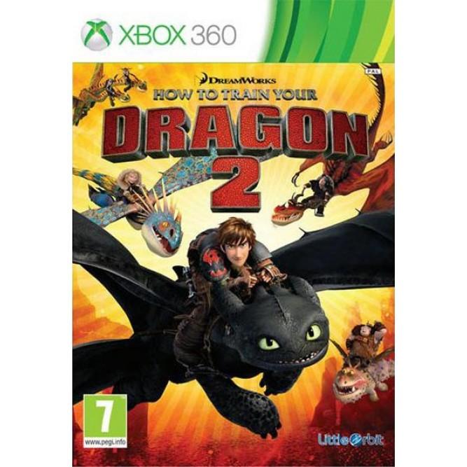 Игра Как приручить дракона 2 (Xbox 360) (eng) б/у