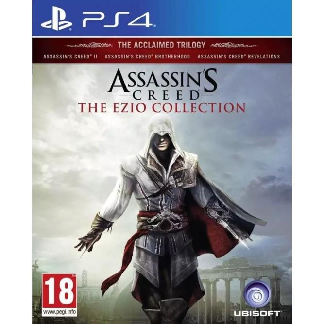 Игра Assassin's Creed: The Ezio Collection (Эцио Аудиторе. Коллекция) (PS4) (rus)