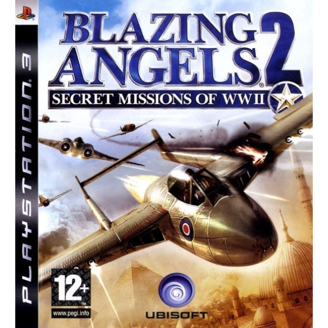 Игра Blazing Angels 2: Secret Missions of WWII (PS3) (eng, б/у)