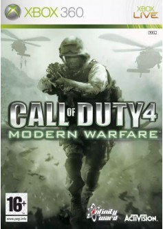 Игра Call of Duty 4: Modern Warfare (Xbox 360) б/у