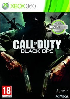 Игра Call of Duty: Black Ops (Xbox 360) б/у (rus)