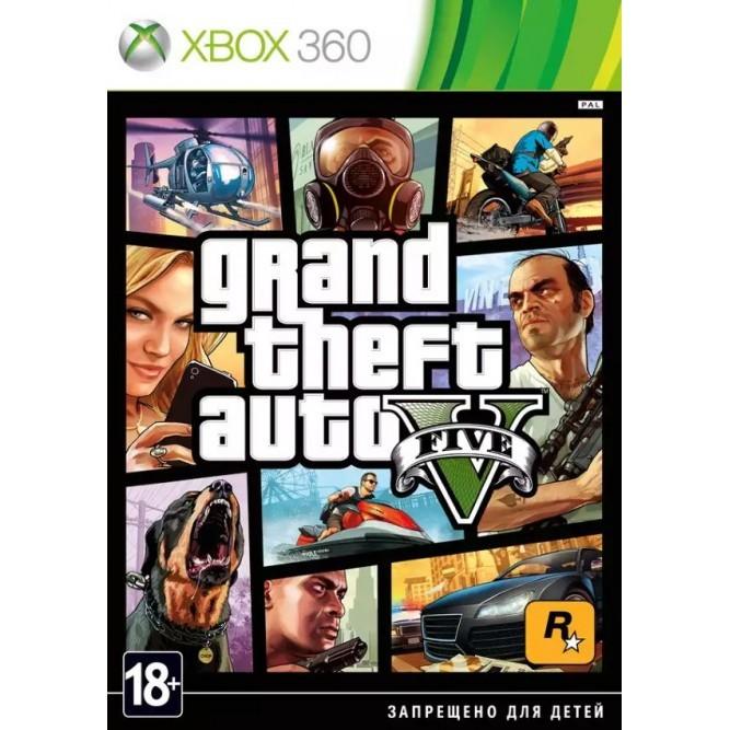Игра Grand Theft Auto V [GTA 5] (Xbox 360) (б/у, en)