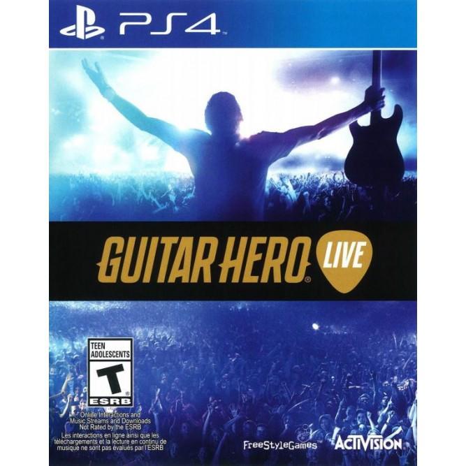 Игра Guitar Hero Live (PS4) б/у