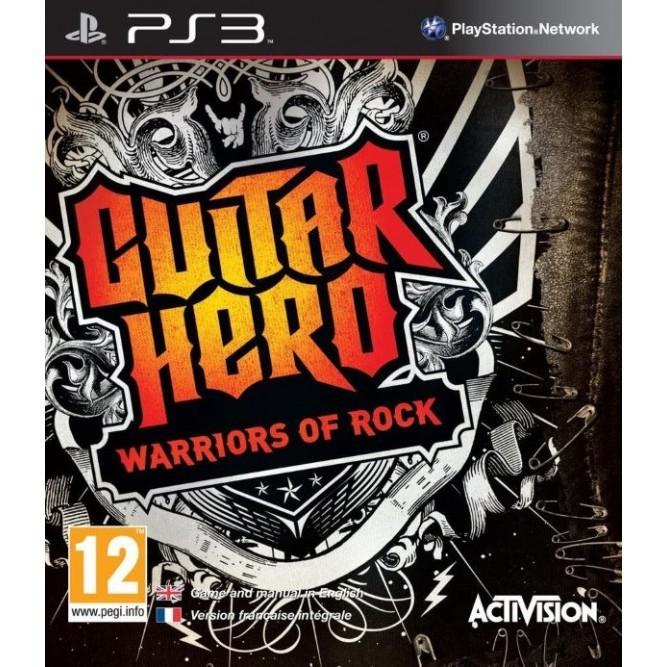 Игра Guitar Hero: Warriors of Rock (PS3)