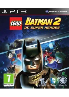 Игра LEGO Batman 2: DC Super Heroes (PS3) б/у