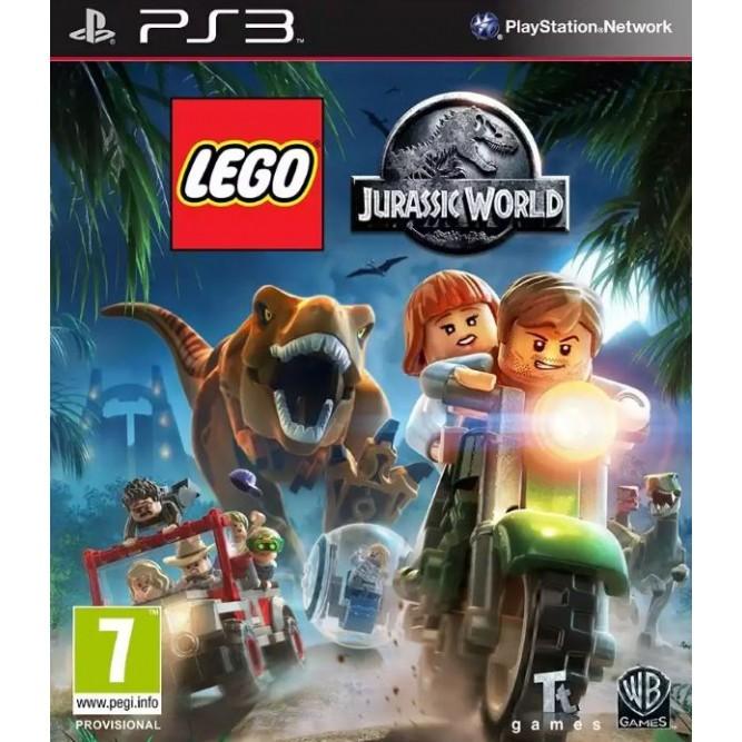 Игра LEGO Jurassic World (LEGO Мир Юрского периода) (PS3) (rus sub) б/у