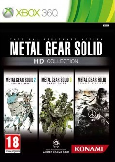 Игра Metal Gear Solid HD Collection (Xbox 360) б/у
