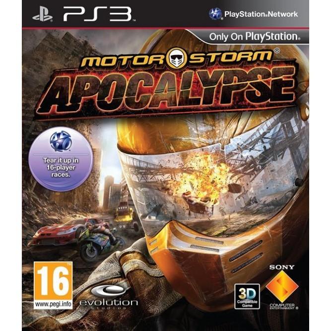 Игра MotorStorm: Апокалипсис (PS3) б/у