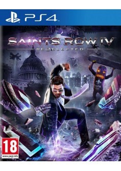 Игра Saints Row IV: Re-Elected (PS4) б/у (rus sub)
