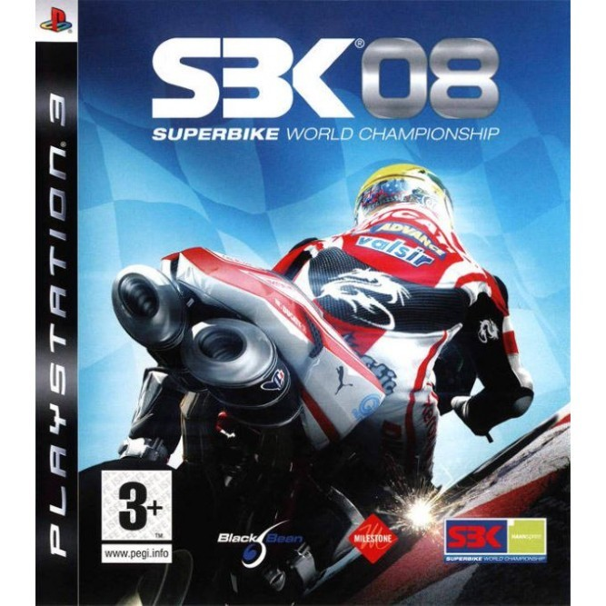 Игра SBK 08 Superbike World Championship (PS3) (eng, б/у)