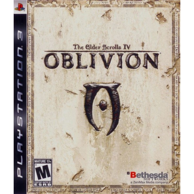Игра The Elder Scrolls IV: Oblivion (PS3) б/у
