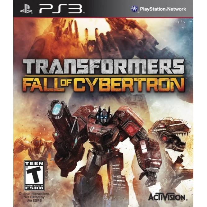 Игра Transformers: Fall of Cybertron (PS3) б/у