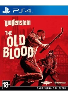 Игра Wolfenstein: The Old Blood (PS4) б/у