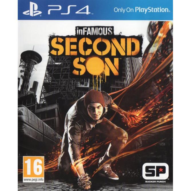 Игра Infamous: Second Son (Второй сын) (PS4) (eng) б/у