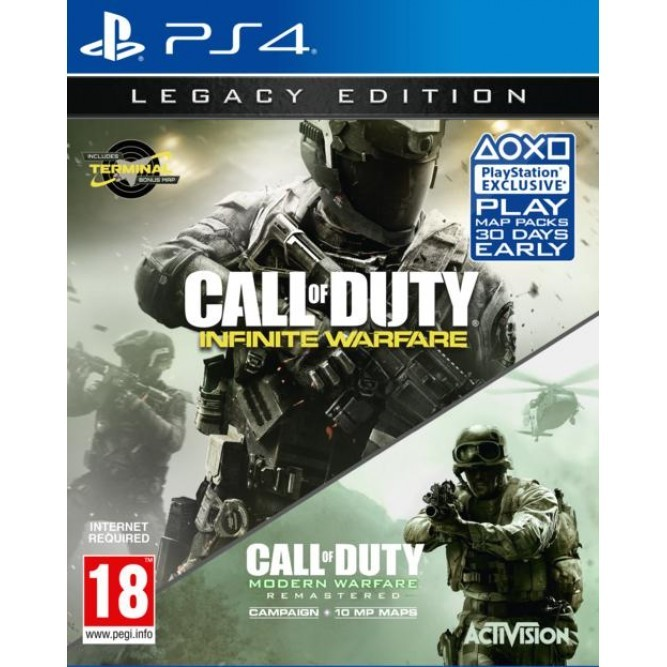 Игра Call of Duty: Infinite Warfare. Legacy Edition (PS4) б/у (rus)