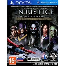 Игра Injustice: Gods Among Us - Ultimate Edition (PS Vita) (rus)