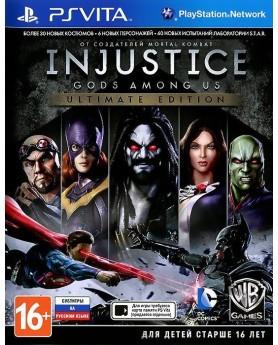 Игра Injustice: Gods Among Us - Ultimate Edition (PS Vita) б/у