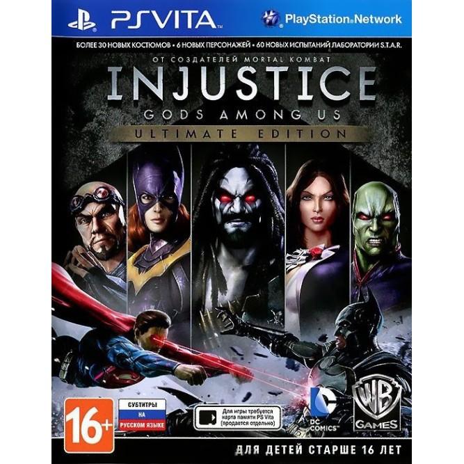 Игра Injustice: Gods Among Us - Ultimate Edition (PS Vita) (rus)