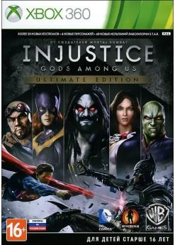 Игра Injustice: Gods Among Us - Ultimate Edition (Xbox 360) б/у