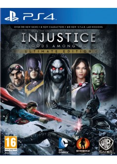 Игра Injustice: Gods Among Us (Ultimate Edition) (PS4)