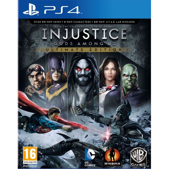 Игра Injustice: Gods Among Us (Ultimate Edition) (PS4) б/у
