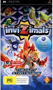Игра Invizimals (PSP) б/у