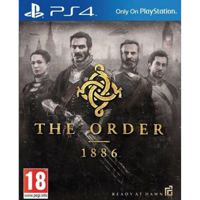 Игра The Order 1886 (PS4) (eng)