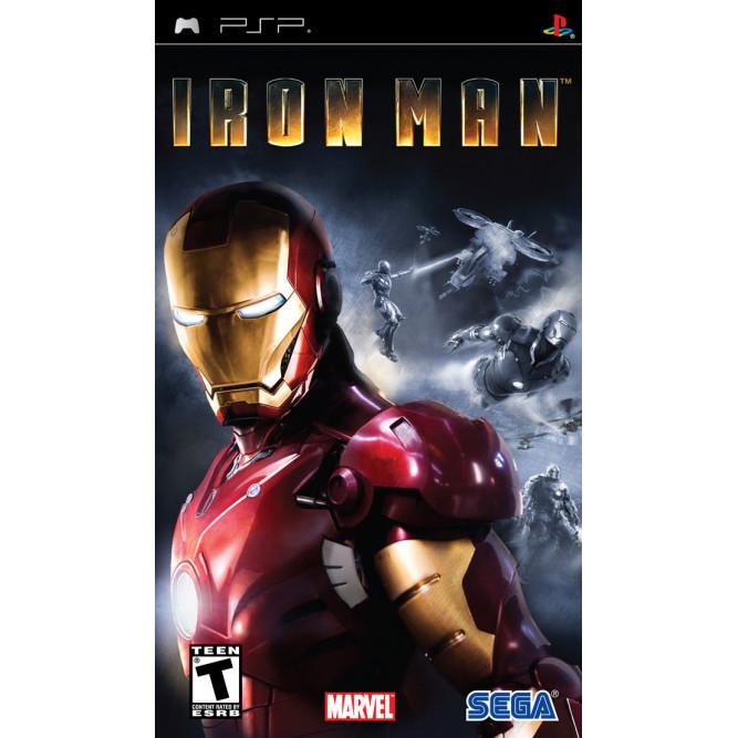 Игра Железный человек (Iron Man) (PSP) (rus) б/у