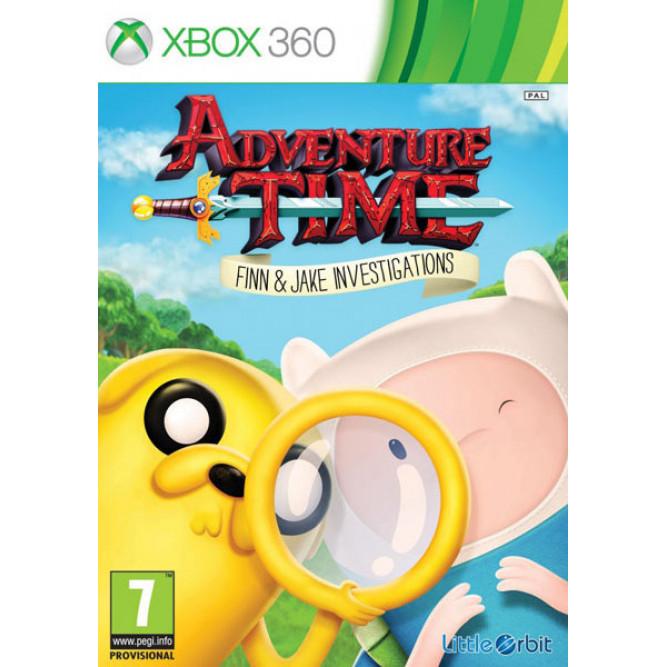 Игра Adventure Time: Finn and Jake Investigations (Финн и Джейк ведут следствие) (Xbox 360) (eng) б/у