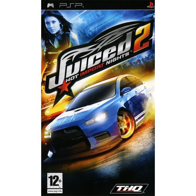 Игра Juiced 2 (PSP) б/у