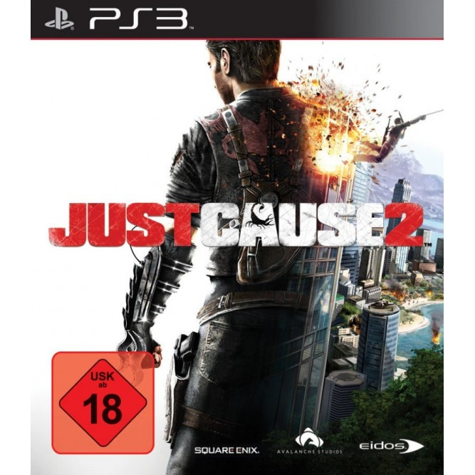 Игра Just Cause 2 (PS3) б/у